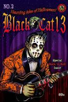 Black Cat 13 Haunting Tales of Halloween #2