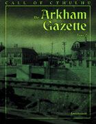 The Arkham Gazette #2