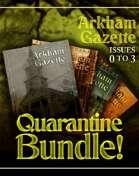 Arkham Gazette Quarantine Special [BUNDLE]