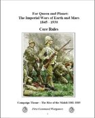 For Queen and Planet - The Imperial Wars of Earth and Mars - 1845 - 1930