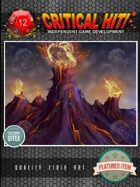 Stock Art - Mystical Places: Fiery Volcano