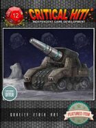 Sci-Fi Stock Art - Mobile Artillery