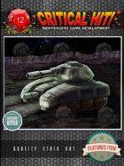 Sci-Fi Stock Art - Battle Tank