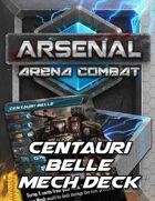 Arsenal: Arena Combat Centauri Belle Deck