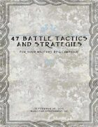 47 Battle Tactics and Strategies for your Military RPG Campaign