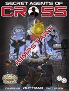 Secret Agents of CROSS Jump Start (Savage Worlds Adventure Edition)