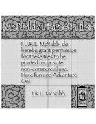 McNabb Black&White Forest Tiles