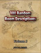 100 Random Room descriptions Volumn 1