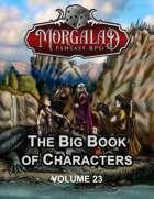 The Big Book of Characters (Morgalad) Volume 23 (NFF2021)