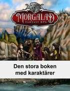 Den stora boken med karaktärer (Morgalad) Volume 17 (NFF)