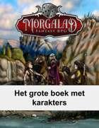 Het grote boek met karakters (Morgalad) Volume 25