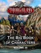The Big Book of Characters (Morgalad) Volume 30 (NFF2021)