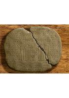 Ancient Cthulhu Cuneiform Tablet III - Cthulhu (Horror RPG Prop Handout)