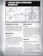 Hollow Earth Expedition GM Screen (Booklet)