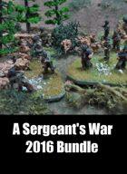 A Sergeant's War Bundle [BUNDLE]
