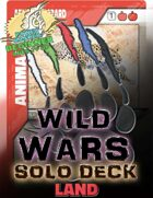 Wild Wars - Beginner Solo Deck - Land