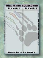 Wild Wars Event Builder - Scorecards