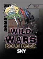 Wild Wars - Beginner Solo Deck - Sky