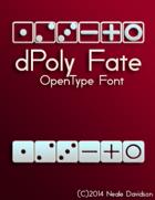 dPoly Fate OpenType Font