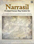 Narrasil Fantasy Map Icon/Symbol Set/Pack