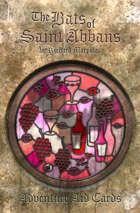 The Bats of Saint Abbans - Adventure Aid Cards