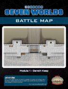 Seven Worlds Battlemap 04 - Gareth Keep