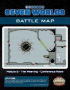 Seven Worlds Battlemap 06 - Spaceship Conference Room