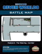 Seven Worlds Battlemap 07 - Spaceship Corridor