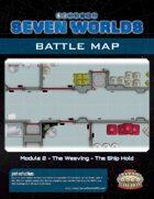 Seven Worlds Battlemap 08 - Spaceship Hold