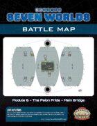 Seven Worlds Battlemap 11 - Spherical spaceship bridge