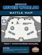 Seven Worlds Battlemap 12 - Space Station Docking Bay