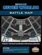 Seven Worlds Battlemap 13 - Space Station Maintenance Section