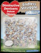 Diminutive Denizens Deluxe: Endless Struggle Minis Pack
