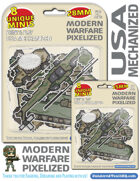 Modern Warfare - USA Mechanized 28mm & 15mm - Pixelized!