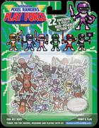Pixel Rangers Play Force - 22 Miniatures! for Tokusatsu/Henshi/Sentai Games!