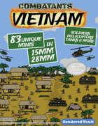 Combatants: Vietnam - 15mm Mega Minis Pack