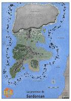 Niil - Sardorean A3 full color map