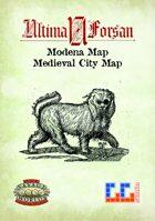 Ultima Forsan - Modena Map (Renaissance City)