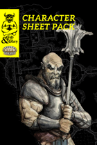 Gold&Glory: Character Sheet Pack