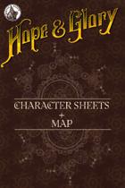 Hope&Glory: Raj Map & Character Sheet