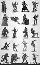 RPG Character Art Pack - Volume VI