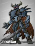 JEStockArt - SciFi - Demon Knight Mystic Mecha - CNB