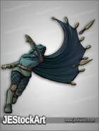 JEStockArt - Fantasy - Cloaked Rogue and Daggers - CNB