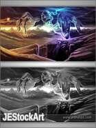 JEStockArt - Fantasy - Powerful Being at Creation - DPB