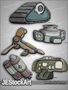 -JEStockPack- SciFi - Mech Equipment Pack 02