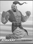 JEStockArt - Fantasy_Arabian - Powerful Male Genie - GNB