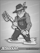 JEStockArt - Fantasy - Pitchfork Farmer - GNB