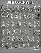-JeStockArt- Kickstarter Fantasy Pack - 60+ Images