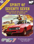 Spirit of 77 - Double Feature #3 - The Guns of Brixton and Nine Lives in the Fast Lane