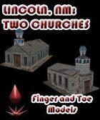 Lincoln, NM: Two Churches